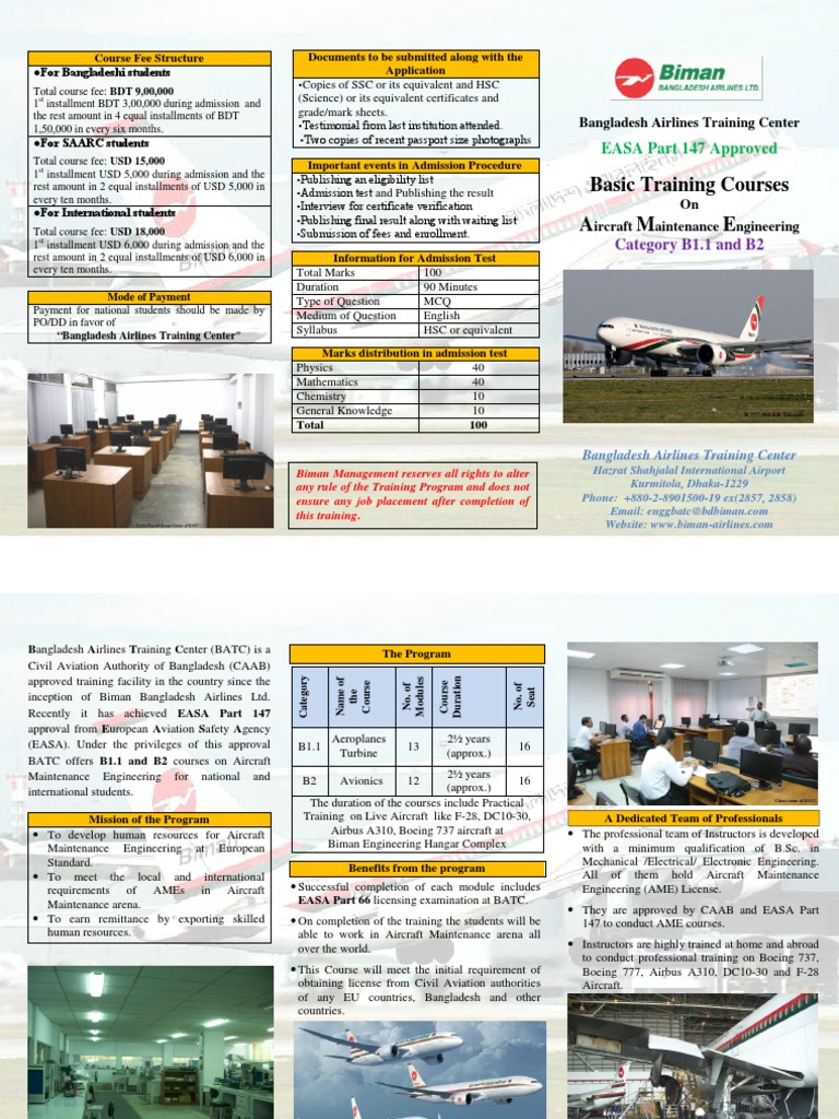 Final Prospectus 2 | University And College Admission | Aviation