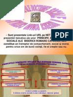 Principiile DOCTRINEI SOCIALE A BISERICII ROMANO CATOLICE