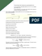 Calculo de La Estructura Interna Para Tanques de Almacenamiento API
