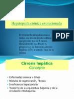 Hepatopatia. y Cirrosis