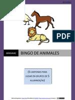 Bingo de Animales