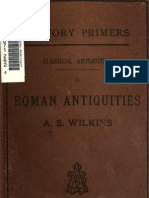 Roman Antiquities by A.S.Wilkins 1884