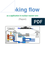 Report-Choking flow application in nuclear reactor core