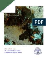 Mapeo de Rocas Volcanicas