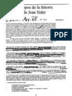 Hipotesis OVNI,Jean Sider-1