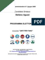 Programma Elettorale Uniti-x-fano 2009