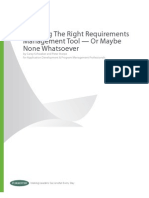Forrester Requirements Management