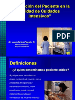 Evaluacion Del Paciente en UCI