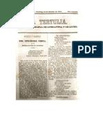 1848 10 15_LA TERTULIA_Arrestos y valentías del intrépido Yesca