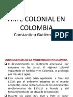 Arte Colonial Colombia.