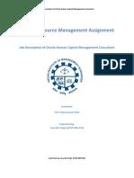 Human Resource Management Assignment Saurabh Kumar Singh(ePGP-04B-102)