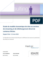 Rapport Hadopi 2012
