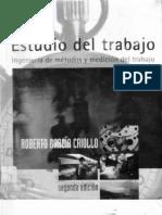 ESTUDIO DEL TRABAJO Ingenieria de Metodos y Medicion Del Trabajo