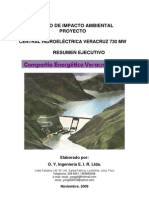 Resumen Ejecutivo Veracruz 730 MW