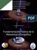 investigación cualitativa Etnográfica