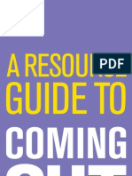 Coming Out Resource Guide