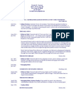 Kevin. R. Convey Resume 2012