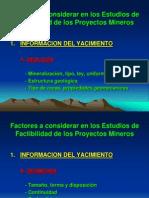 Factores a Considerar en Los Estudios de Factibilidad