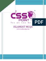 CSS MCQS - ISLAMIAT