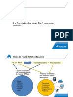 Americatel La Banda Ancha en el Perú Ideas para su desarrollo