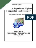 Principios y Conceptos de Hidráulica