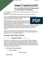 KIT December 1996, Vol VIII #12 New 12-8-96