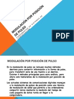 MODULACIÓN POR POSICIÓN DE PULSO