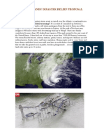 Hurricane Sandy Disaster Relief Proposal