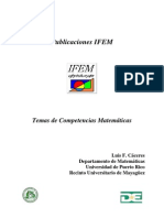 Temas de Competencias Matemáticas