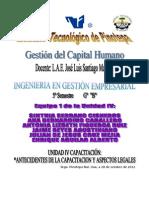 INFORME Antecedentes-Historicos y Aspectos- Legales de-la-capacitacion