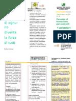 Depliant Progetto Csv