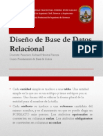 Diseño de Base de Datos Reacional