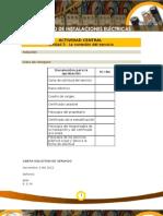Servicios de Instalaciones ElectricasSolucion Actividad Central U 3