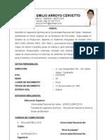 CV Daniel Arroyo