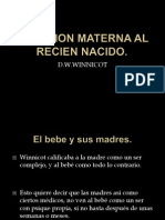 Reaccion Materna Al Recien Nacido