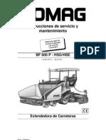 Manual de Operación y Mtto BF600P