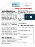 Week 12 Newsletter