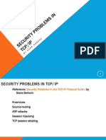 Security Problems in TCP-IP