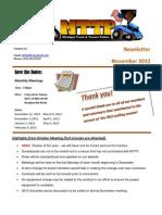 2012.11 Newsletter