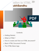 HTML - Basics