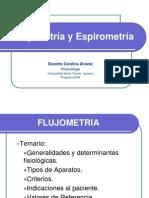 Fujometria y Espirometria