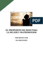 El Propósito de Dios para la Mujer y Matrimonios_DILD ver