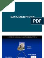 Mp - Manajem Proyek
