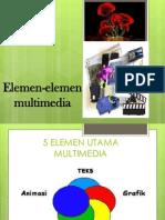 Elemen Elemen Multimedia