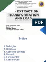 ETL - Extração Transformação e Carga de Dados