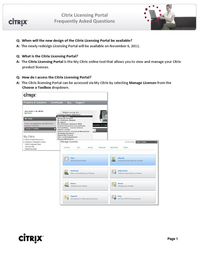 Citrix FAQ   Software   Cyberspace