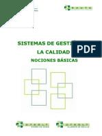 SISTEMAS DE GESTIÓN DE LA CALIDAD NOCIONES BÁSICAS