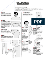 Galactica Uniform Guide for Tailored Measurements - Metric
