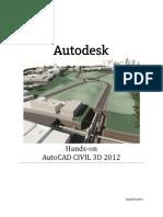 AutoCAD Civil 3D 2012 - Treinamento Hands-On