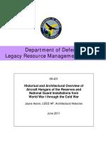 Military Aircraft Hangars History